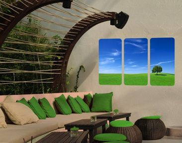 Produktfoto Wall Mural Relaxation Triptychon