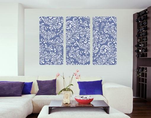 Produktfoto Selbstklebendes Wandbild The 7 Virtues - Prudence Triptychon