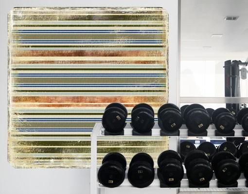 Produktfoto Selbstklebendes Wandbild Streaky II
