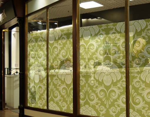 Produktfoto Fensterfolie - Sichtschutz Fenster The 12 Muses - Polyhymnia - Fensterbilder