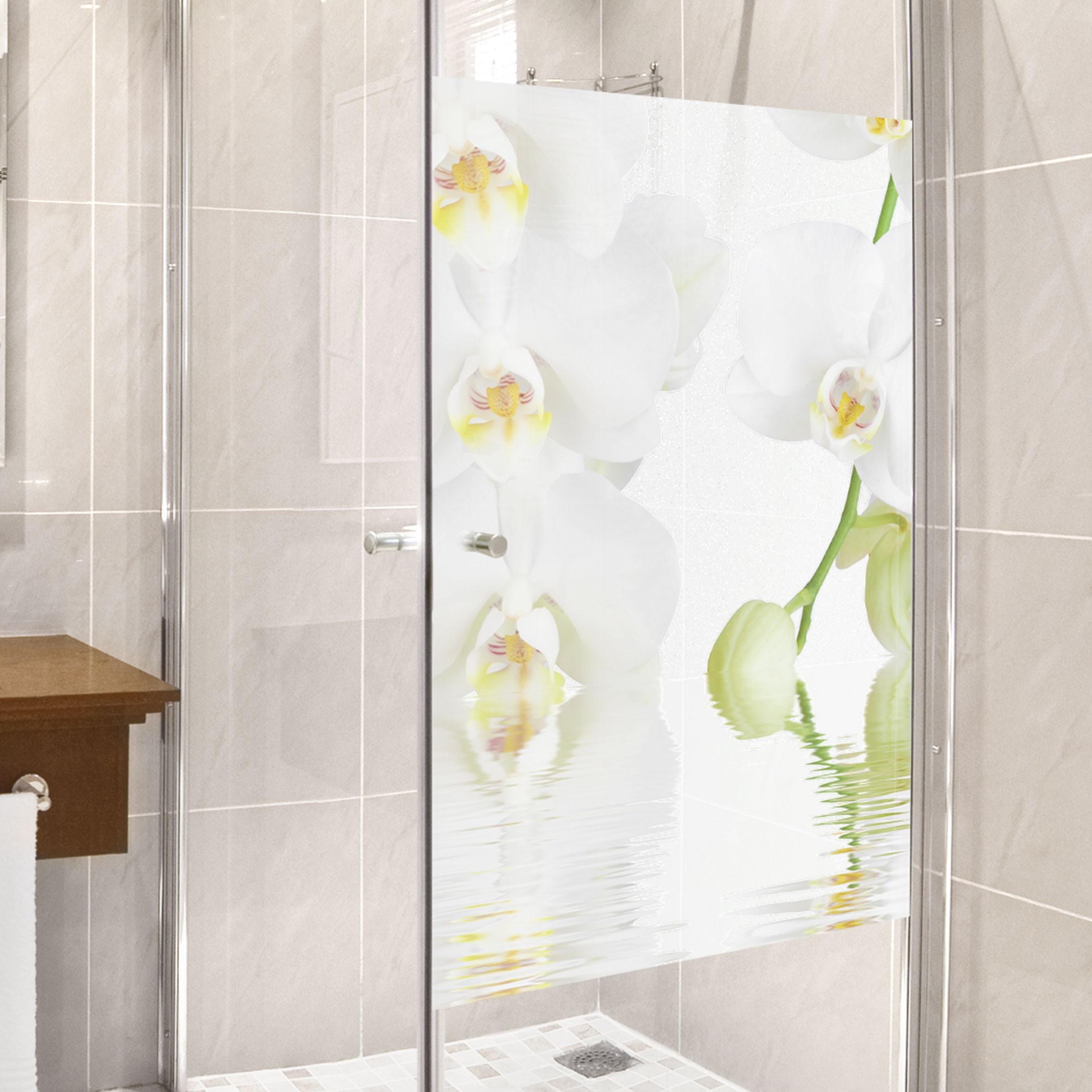 Decorazione per finestre wellness orchid for Decorazione finestre