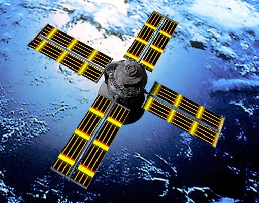 Produktfoto Selbstklebendes Wandbild The Space Runner Triptychon