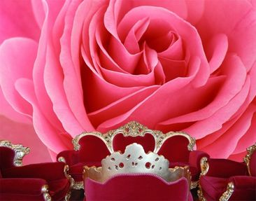 Produktfoto Photo Wall Mural Lustful Pink Rose