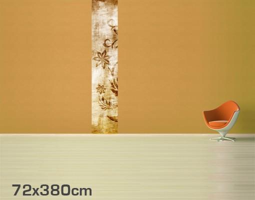 fototapete blumen wooden flower tapete selbstklebend. Black Bedroom Furniture Sets. Home Design Ideas