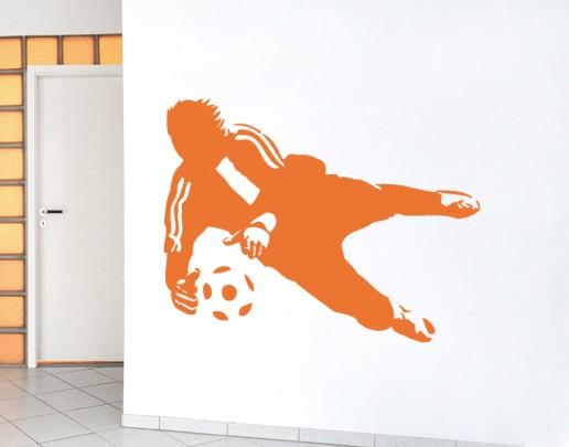 Wandtattoo Fussball Kinderzimmer No Ul452 Torwartparade I