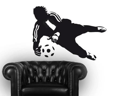 Produktfoto Wandtattoo Fußball - Kinderzimmer No.UL452 Torwartparade I