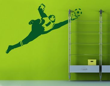 Product picture Wall Decal No.UL453 Goal Keeper Parade...
