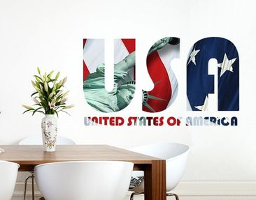 Produktfoto Wall Decal no.TM153 USA