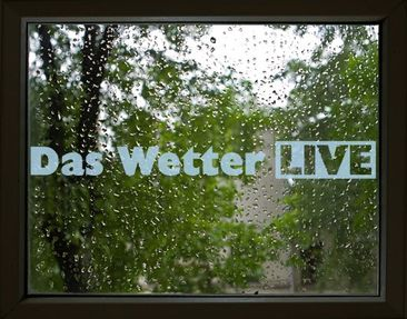 Product picture Window Sticker no.UL464 The Weather Live...