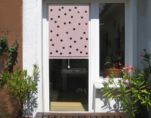 Produktfoto Fensterfolie - Sichtschutzfolie Sichtschutzfolie No.UL474 Rollo gepunktet - Milchglasfolie