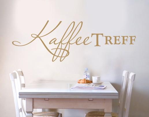 Produktfoto Wandtattoo Sprüche - Wandworte No.UL492 Kaffee Treff