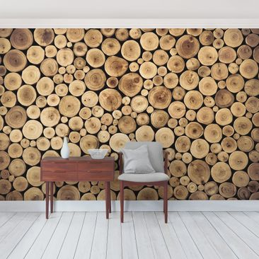 Product picture Photo Wall Mural Homey Firewood