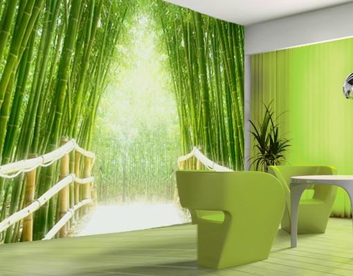 "Produktfoto Papiertapete - Fototapete Bambus No.9 ""BAMBOO WALK"" 400x280cm"
