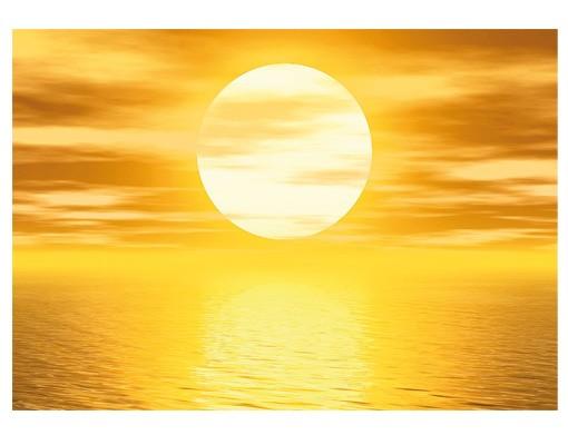 "Produktfoto Papiertapete – Fototapete No.10 ""GOLDEN SUN"" 400x280cm"