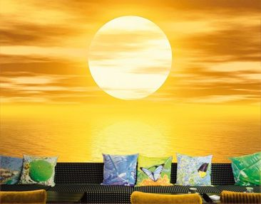 "Produktfoto Photo wall mural no.10 ""GOLDEN SUN""..."