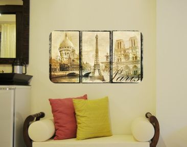 Product picture Wall Mural Paris Mon Amour