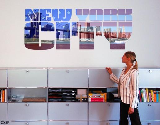 Produktfoto Wandtattoo Sprüche - Wandworte No.SF818 NYC