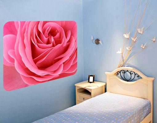 Produktfoto Selbstklebendes Wandbild Lustful Pink Rose