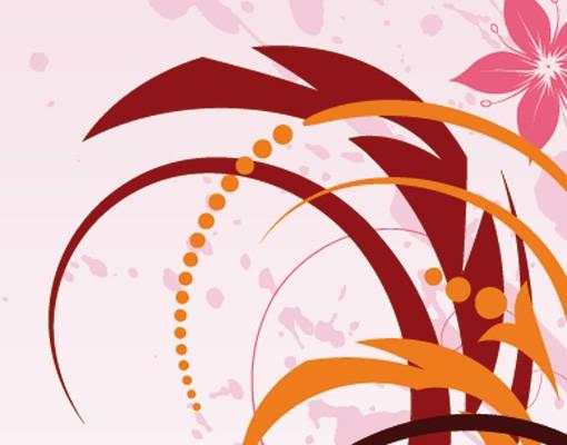 Produktfoto Selbstklebendes Wandbild Glory Colours Triptychon