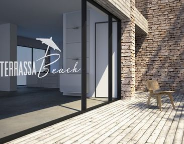 Produktfoto Window Sticker no.UL497 Terassa Beach