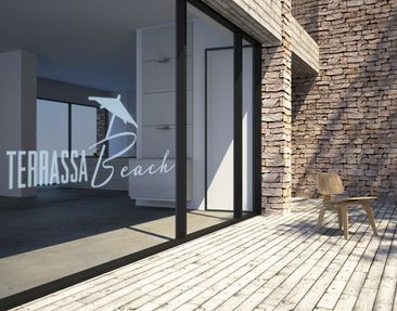 Product picture Window Sticker no.UL497 Terassa Beach