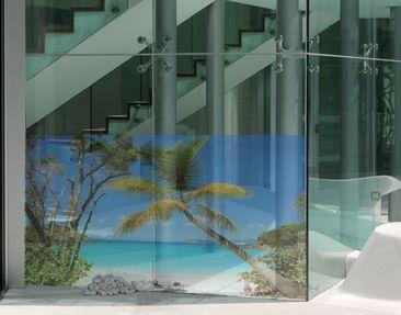 Produktfoto Window Mural Les Seychelles