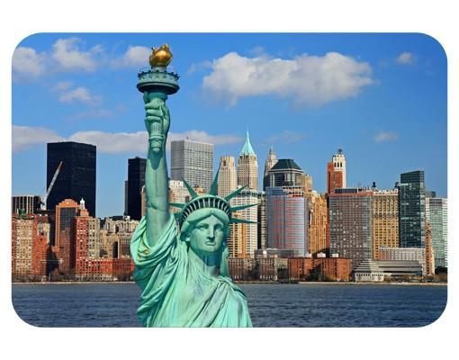 Produktfoto Selbstklebendes Wandbild New York Skyline