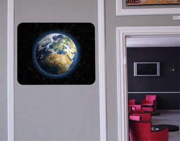 Produktfoto Selbstklebendes Wandbild My Earth