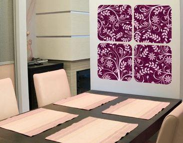 Produktfoto Selbstklebendes Wandbild The 12 Muses - Mneme Quattro