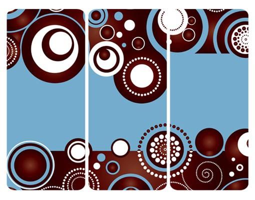 Produktfoto Selbstklebendes Wandbild Come Over Triptychon