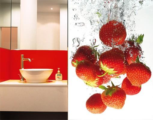 "Produktfoto Papiertapete – Fototapete No.38 ""STRAWBERRY BATH"" 200x280cm"