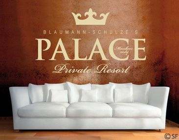 Product picture Wall Decal no.SF850 OwnWords Palace