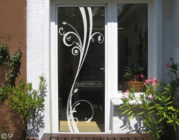 Produktfoto Fensterfolie - Fenstertattoo No.SF848 WindowPlant - Milchglasfolie