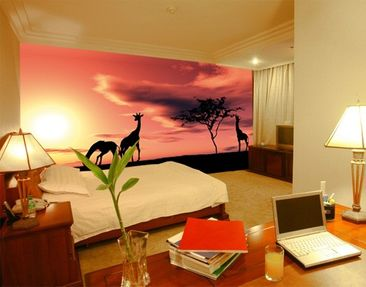 "Product picture Photo wall mural no.19 ""AFRICAN..."
