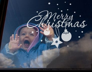 Product picture Window Sticker no.UL536 Merry Christmas