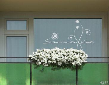 Produktfoto Fensterfolie - Fenstertattoo No.SF863...