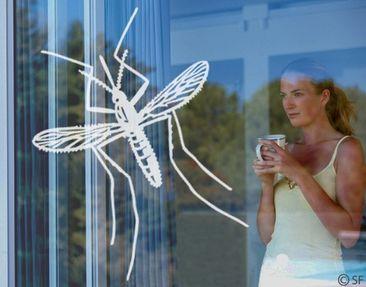 Produktfoto Fensterfolie - Fenstertattoo No.SF873 Moskito - Milchglasfolie