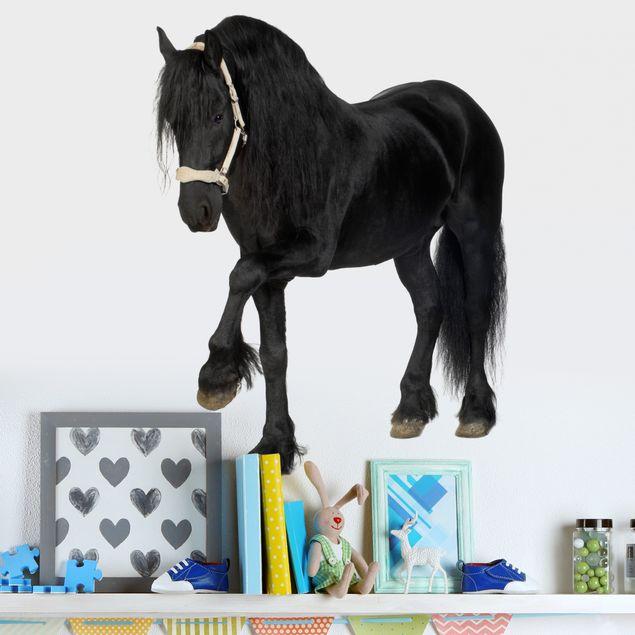 Produktfoto Wandtattoo Pferd No.276 Friesenstute