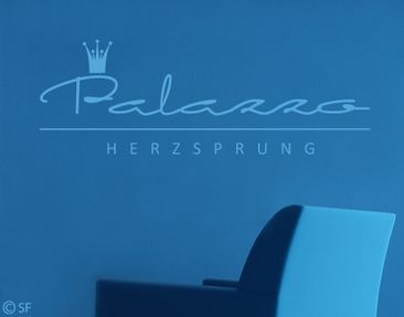 Product picture Wall Decal no.SF8867 Wunschtext  Palazzo