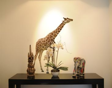 Product picture Wall Decal no.316 Nibbling Giraffe