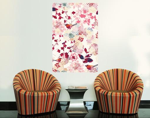 Produktfoto Selbstklebendes Wandbild Fancy Birds