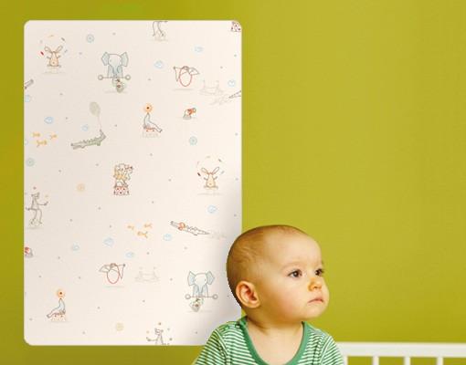 Produktfoto Selbstklebendes Wandbild Little Circus