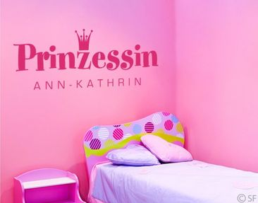 Product picture Wall Decal No.SF880 own words Prinzessin