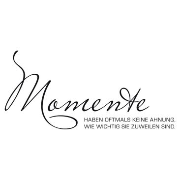Product picture Wall Decal No.SF885 Momente