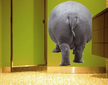 Produktfoto Wall Decal No.348 The Hippo Goes Home