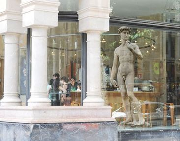 Produktfoto Fensterfolie - Fenstersticker No.347 Michelangelo's David - Fensterbilder
