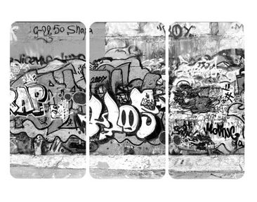 Product picture Wall Mural Graffiti Art Triptych