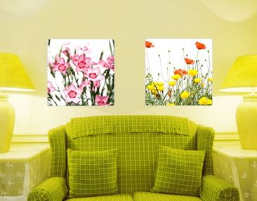 Produktfoto Wall Mural Duo Of Flowers
