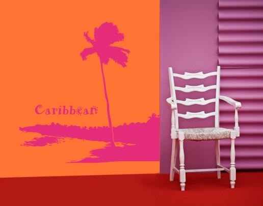 Produktfoto Wandtattoo Baum No.UL560 Carribean