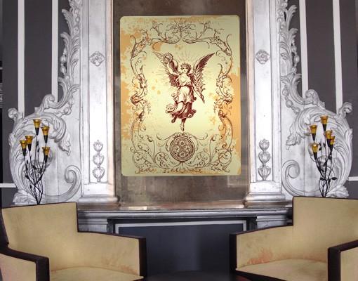 Produktfoto Selbstklebendes Wandbild Grunge Angel